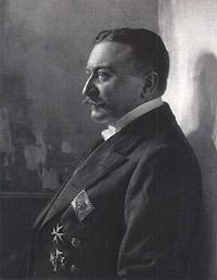 Portrait of Ferdinand, Graf von Zeppelin