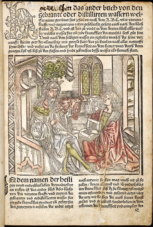 E1r - hand colored plate with two figures,  Image number:sil28-067-05