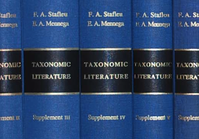 Taxonomic Literature II : Smithsonian Libraries