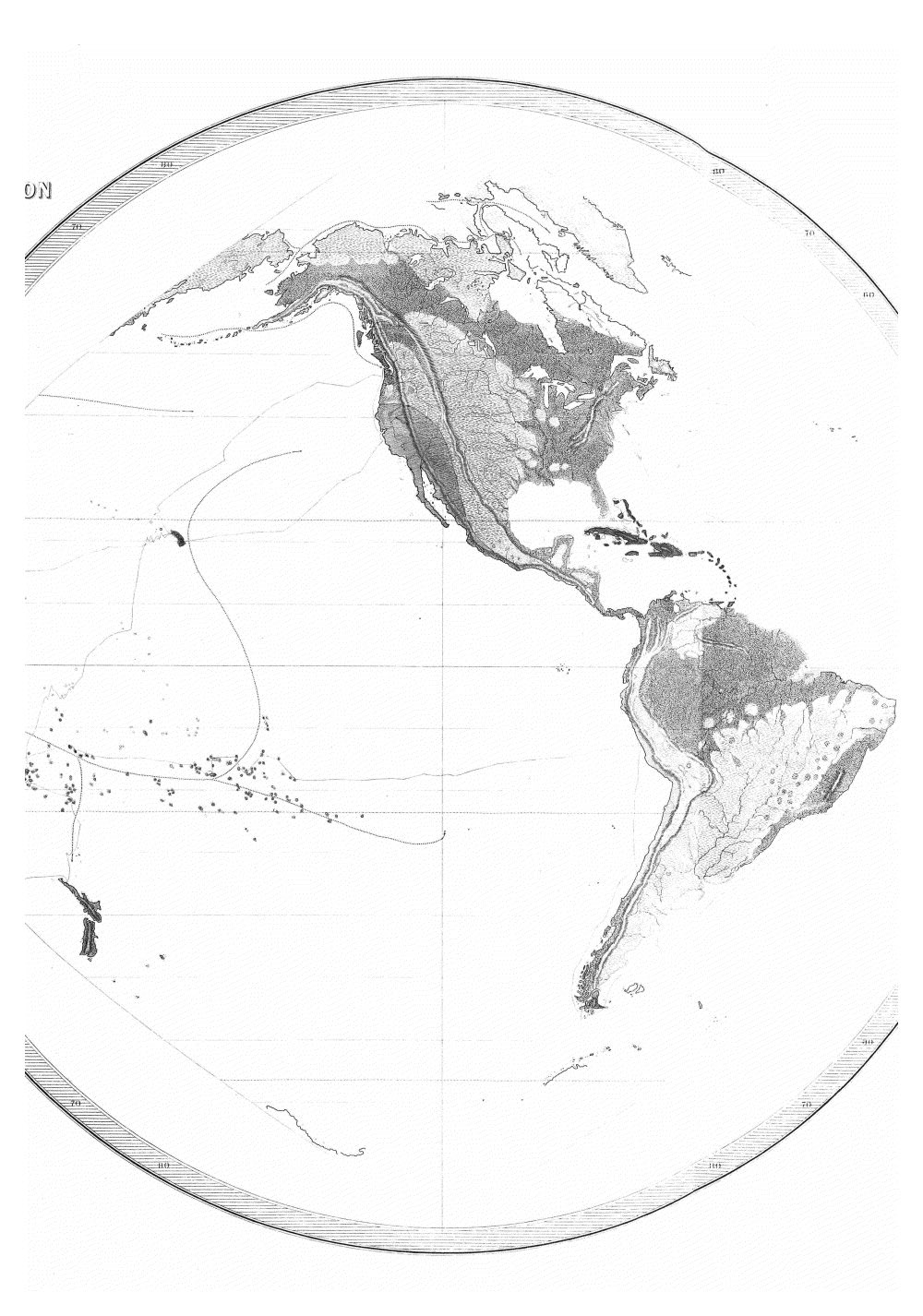 Geographical Distribution of the Races of Men. by C. Pickering U.S. Ex. Ex. 1845,  Image number:Sil19-13-016