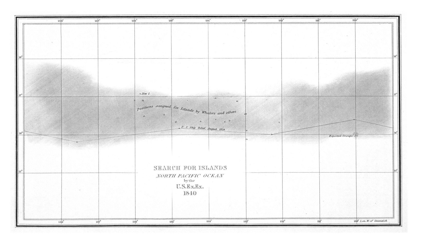 Search for Islands, North Pacific Ocean,  Image number:Sil19-34-287