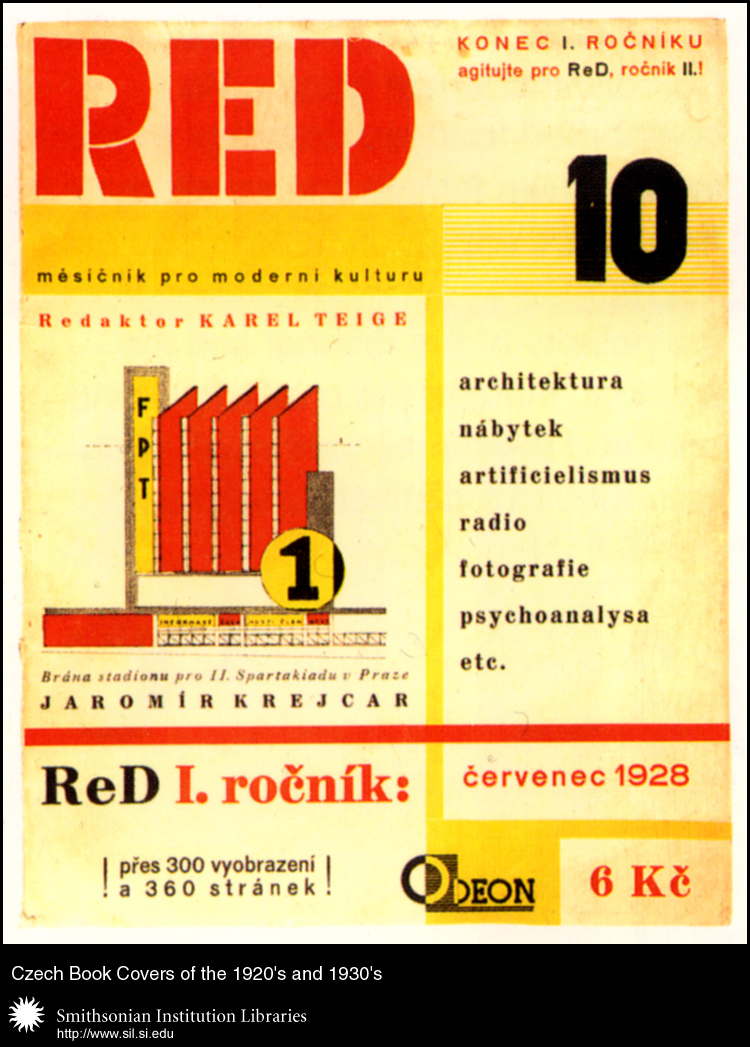 ReD. Revue Svazu moderní kultury Devětsil [ReD: Review of the Union for Modern Culture Devětsil]