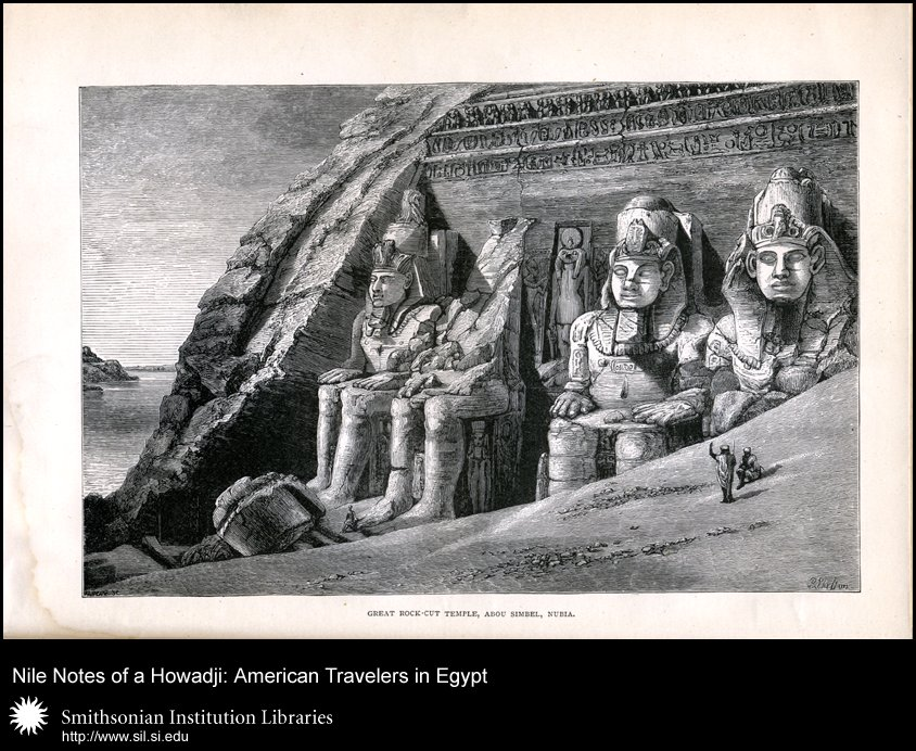 Frontispiece illustration of Abu Simbel,  Image number:SIL28-43-02