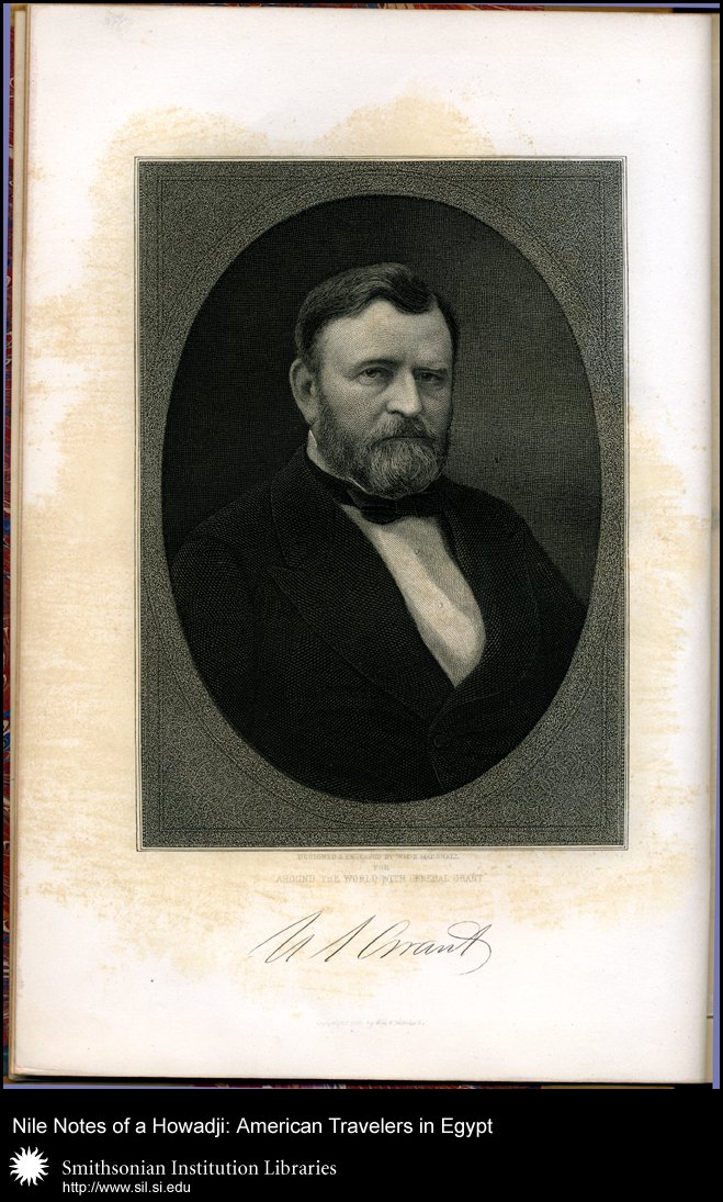 Frontispiece portrait of U.S. Grant,  Image number:sil28-48-01