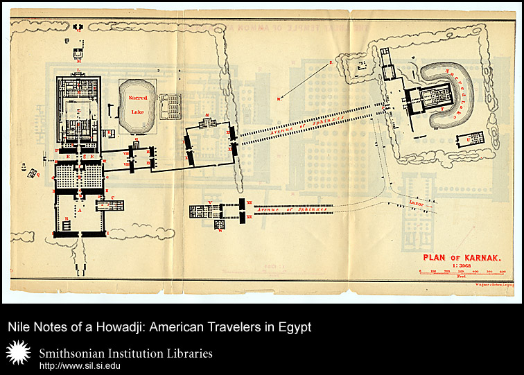Plan of the Karnak,  Image number:sil28-54-04