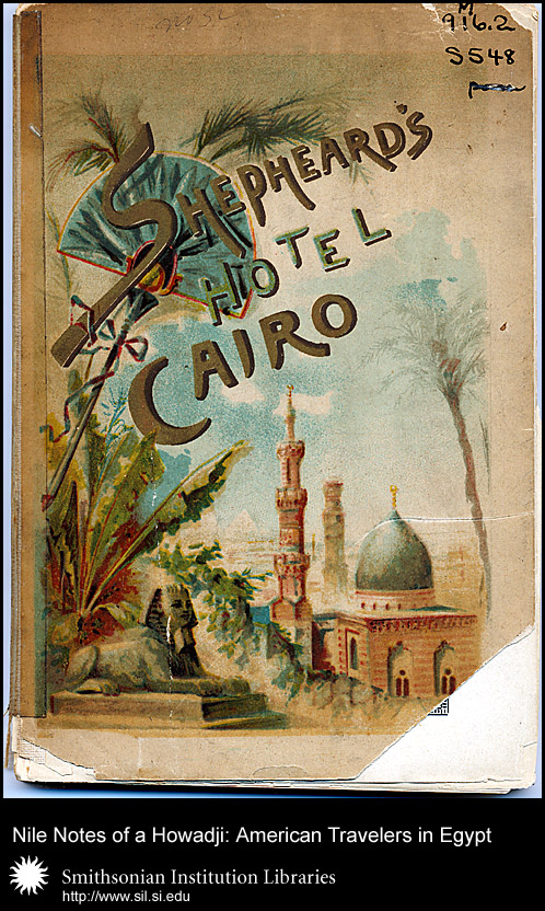 Fantastic cover with view of Cairo,  Image number:sil28-99-01