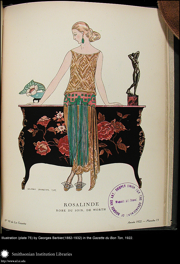 Illustration (plate 75) by George Barbier (1882-1932),  Image number:Barbier11