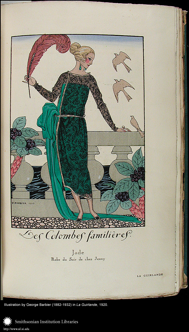 Illustration by George Barbier (1882-1932),  Image number:Barbier5