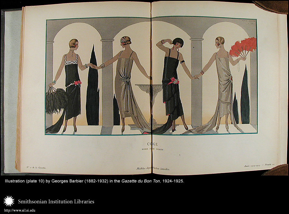 Illustration (plate 10) by George Barbier (1882-1932),  Image number:Barbier8