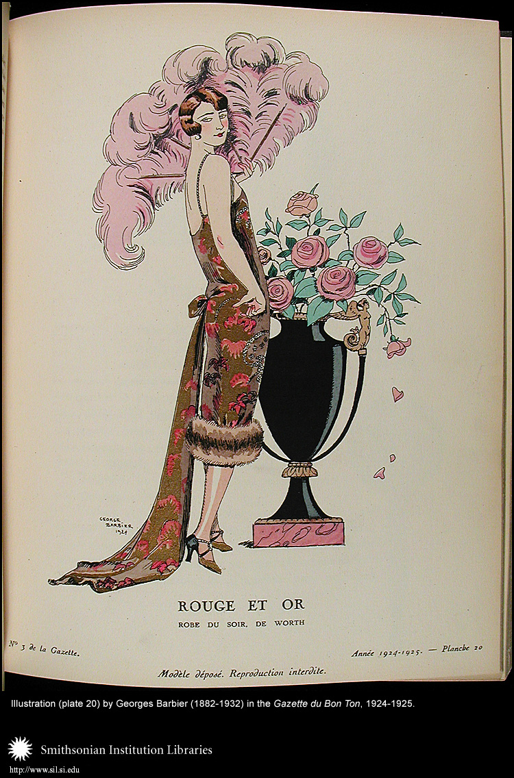 Illustration (plate 20) by George Barbier (1882-1932),  Image number:Barbier9