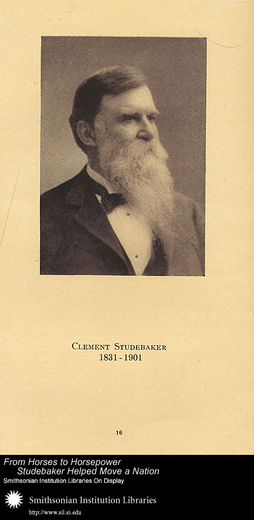Clement Studebaker (1831-1901),  Image number:SIL-028-095-01