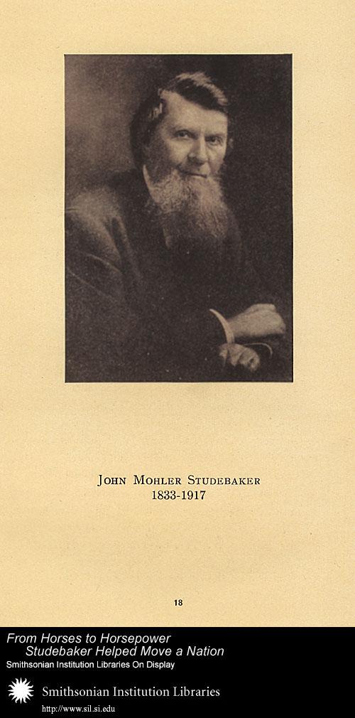 John Mohler Studebaker (1833-1917),  Image number:SIL-028-095-02