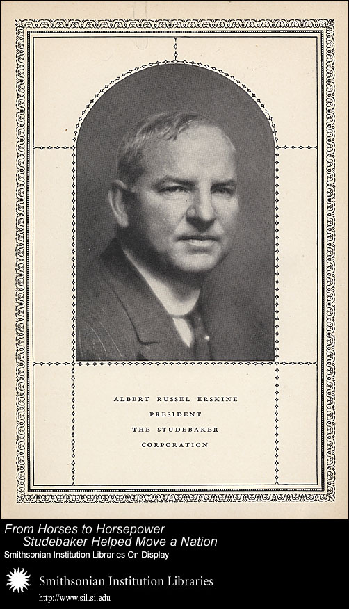 Albert Russel Erskine (1871-1933),  Image number:SIL-028-096-02