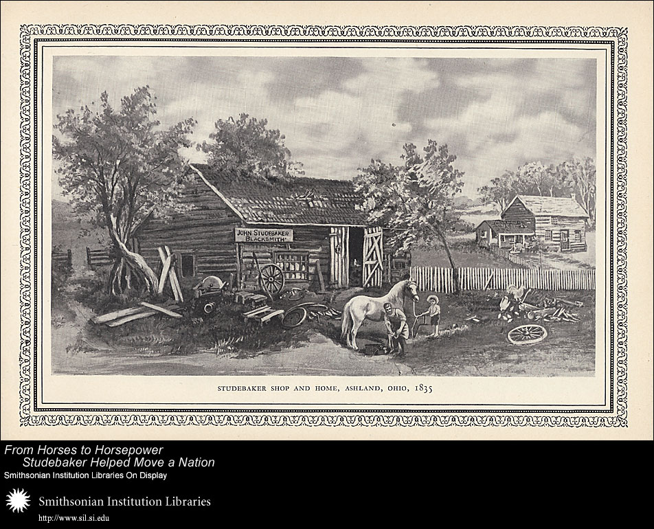 Studebaker Shop and Home, Ashland, Ohio, 1835,  Image number:SIL-028-096-03