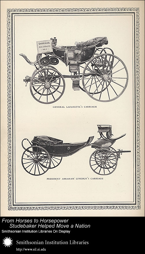 President Abraham Lincoln's Carriage,  Image number:SIL-028-096-07