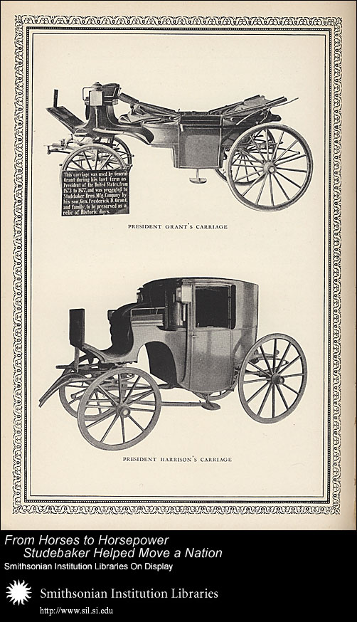 President Harrison's Carriage,  Image number:SIL-028-096-08