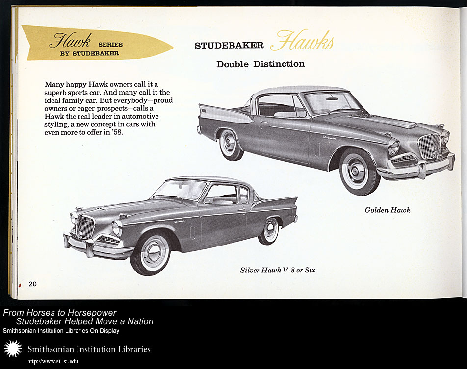 Hawk series by Studebaker,  Image number:SIL28-37-01a