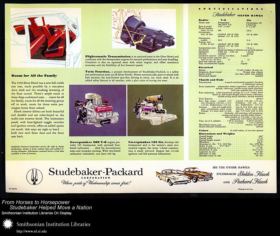Studebaker Silver Hawk,  Image number:SIL28-38-02