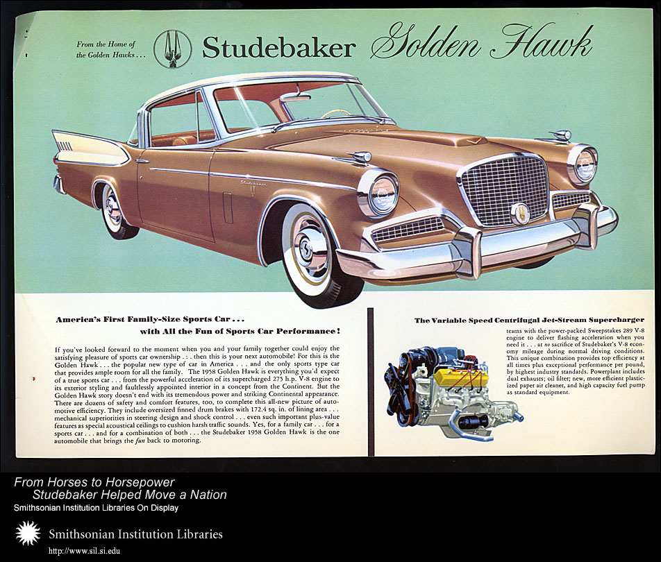 Studebaker Golden Hawk,  Image number:SIL28-39-01