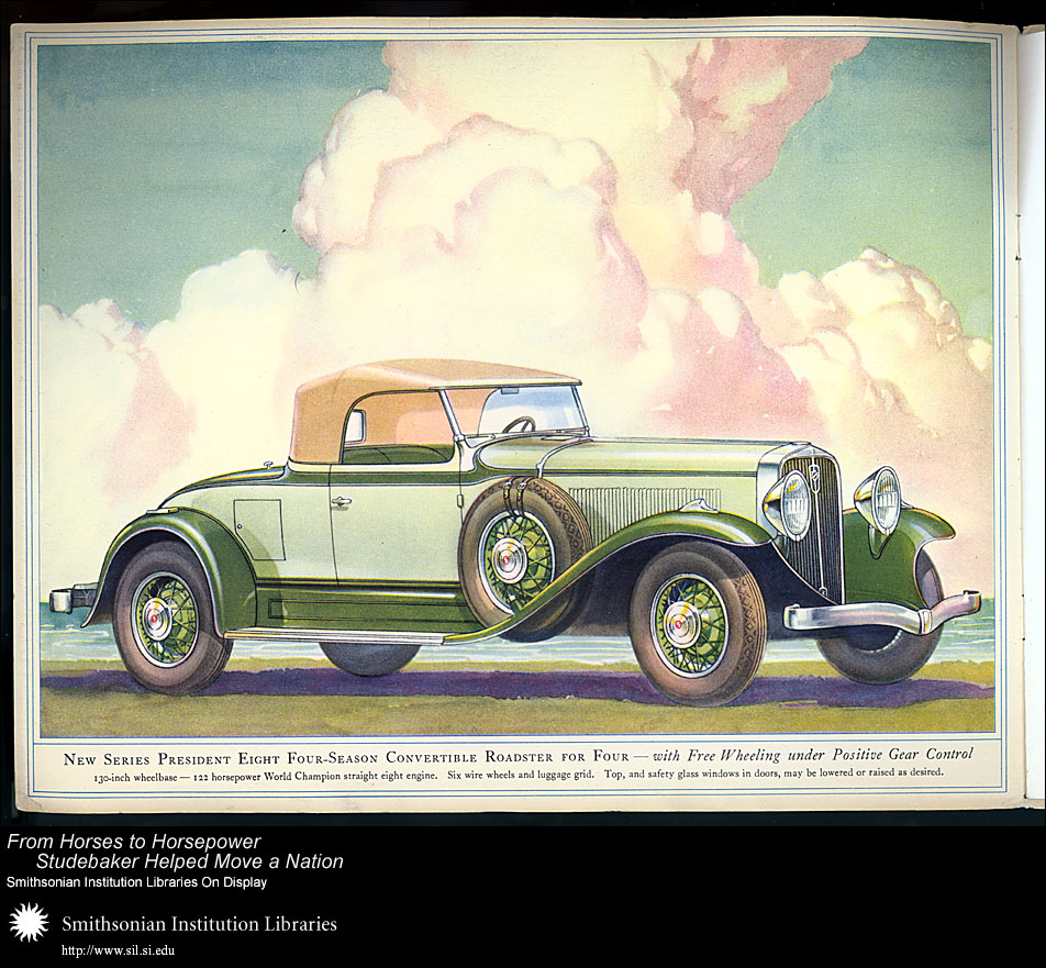 President Eight Four-Season Convertible Roadster for Four,  Image number:SIL28-41-02