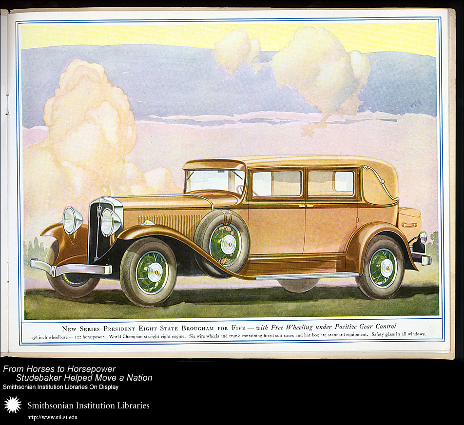 President Eight State Brougham for Five,  Image number:SIL28-41-05