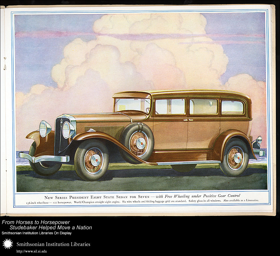 President Eight State Sedan for Seven,  Image number:SIL28-41-07