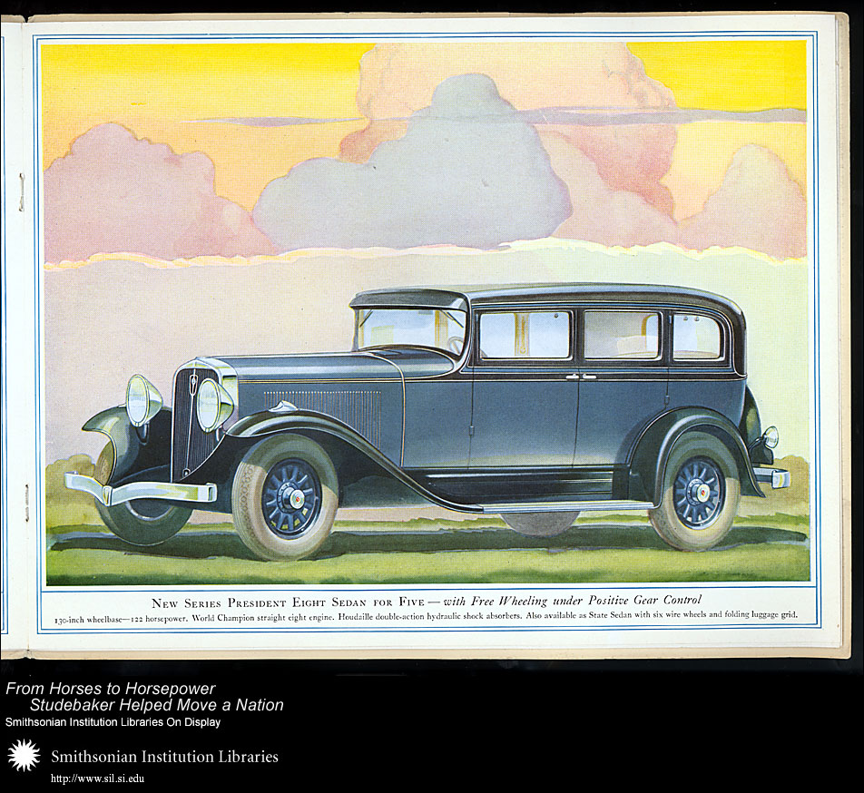 President Eight Sedan for Five,  Image number:SIL28-41-09