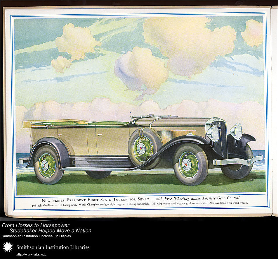President Eight State Tourer for Seven,  Image number:SIL28-41-10