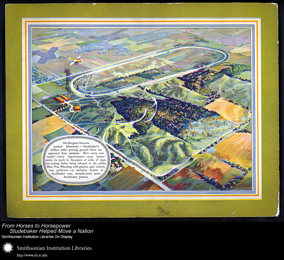 Studebaker proving ground, 1931,  Image number:SIL28-41-16