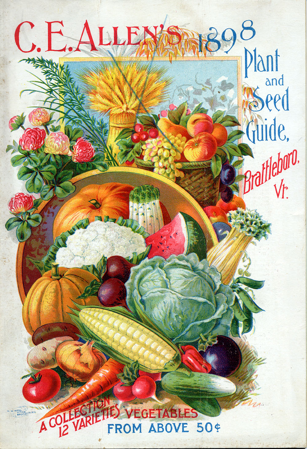 Old Fashioned Seed Catalog