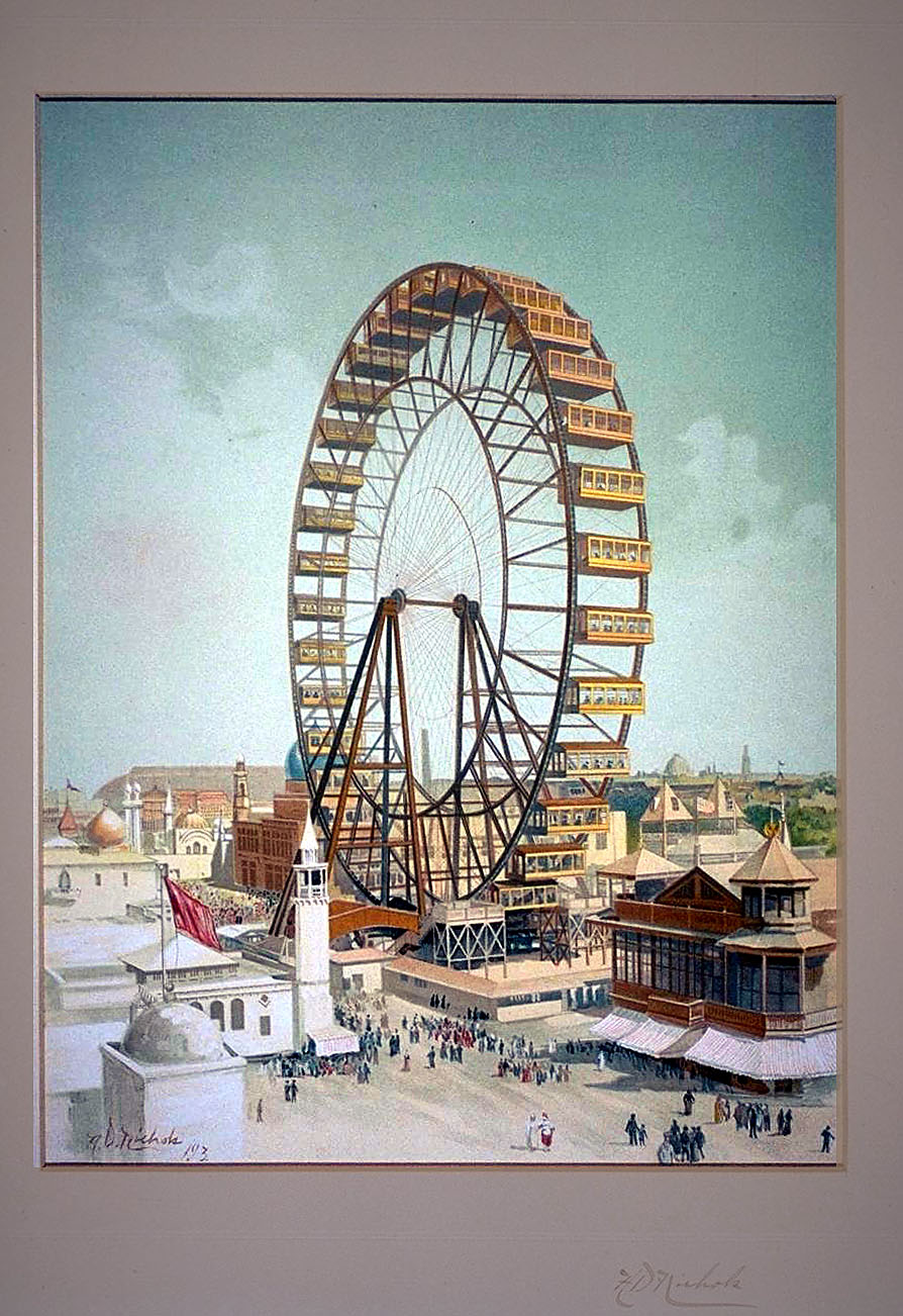 Ferris wheel, Midway Plaisance