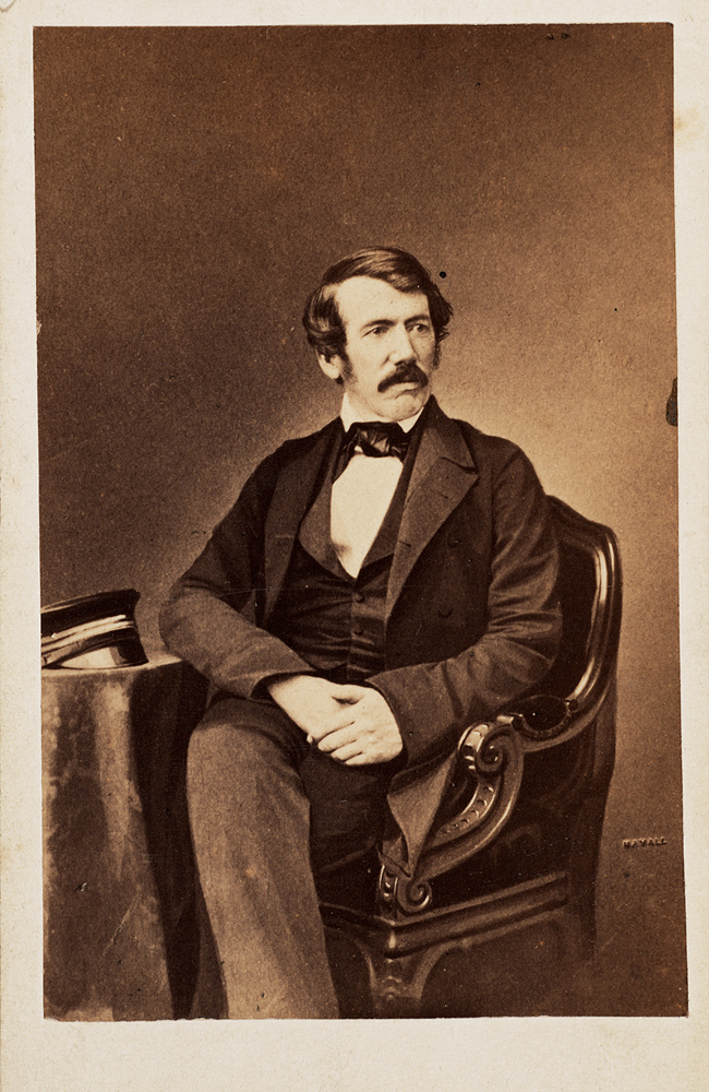 Carte de visite: [David Livingstone],  Image number:SIL28-318-01