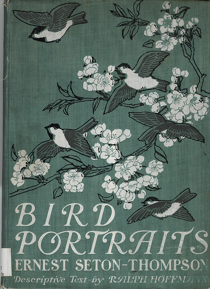 Original publisher's cloth pictorial cover with birds in cherry trees.,  Image number:SIL28-126-01