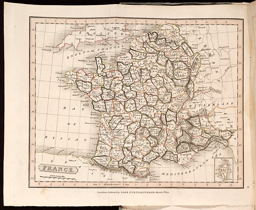 Map of France,  Image number:SIL28-204-01