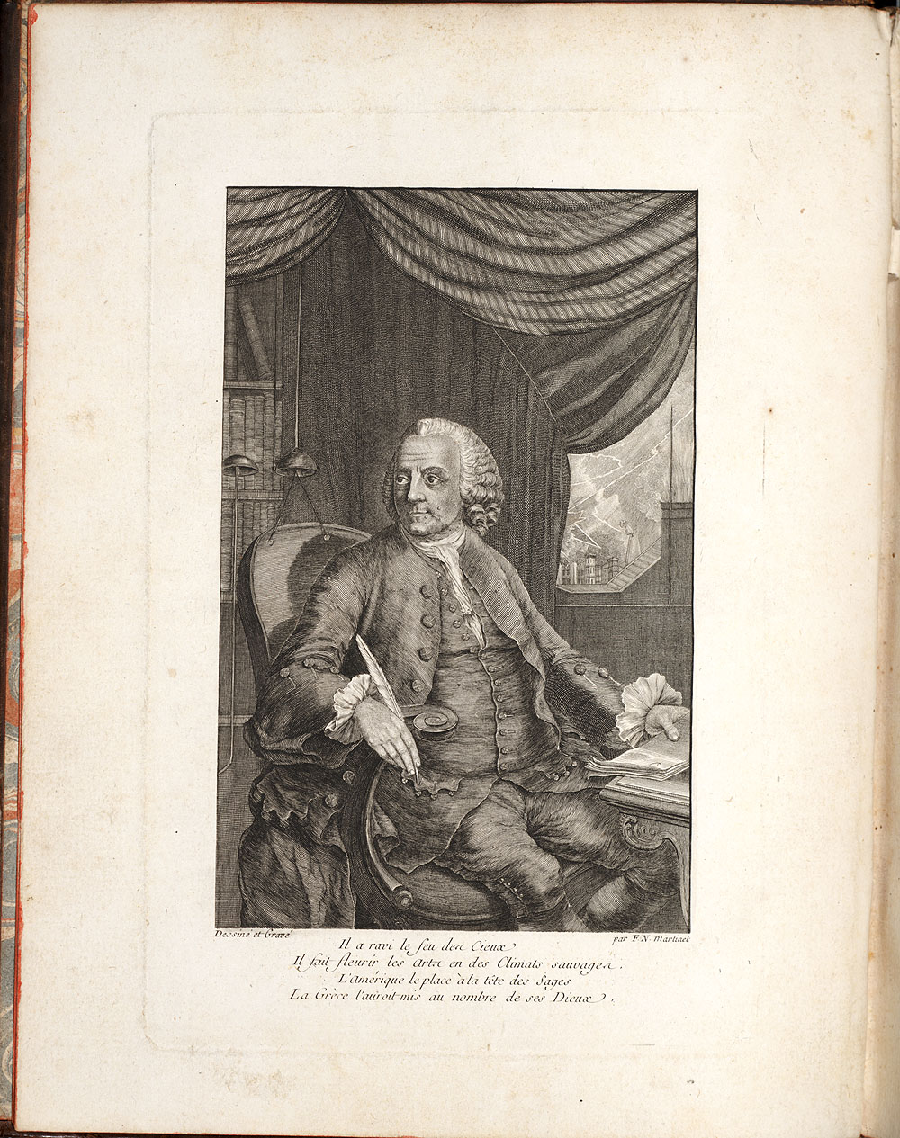 Portrait of Benjamin Franklin,  Image number:SIL7-276-02