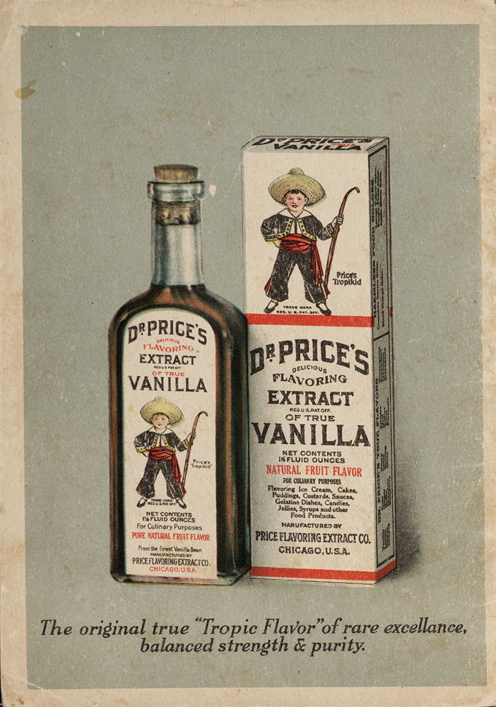 Dr. Price's Extract of True Vanilla,  Image number:SIL28-261-01