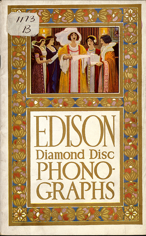 Edison Diamond Disc Phonographs,  Image number:SIL29-007-1