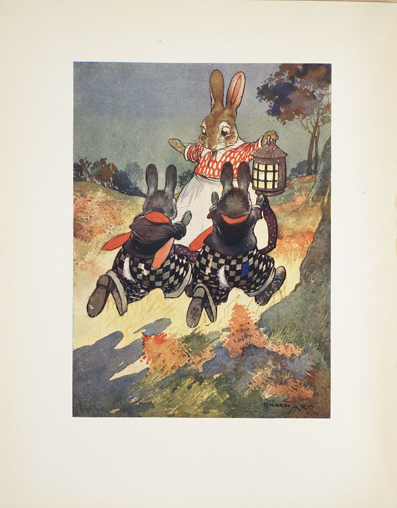 Rabbits running,  Image number:SIL33-164-15
