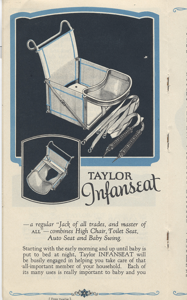 Taylor Infanseat,  Image number:SIL-038-07-11