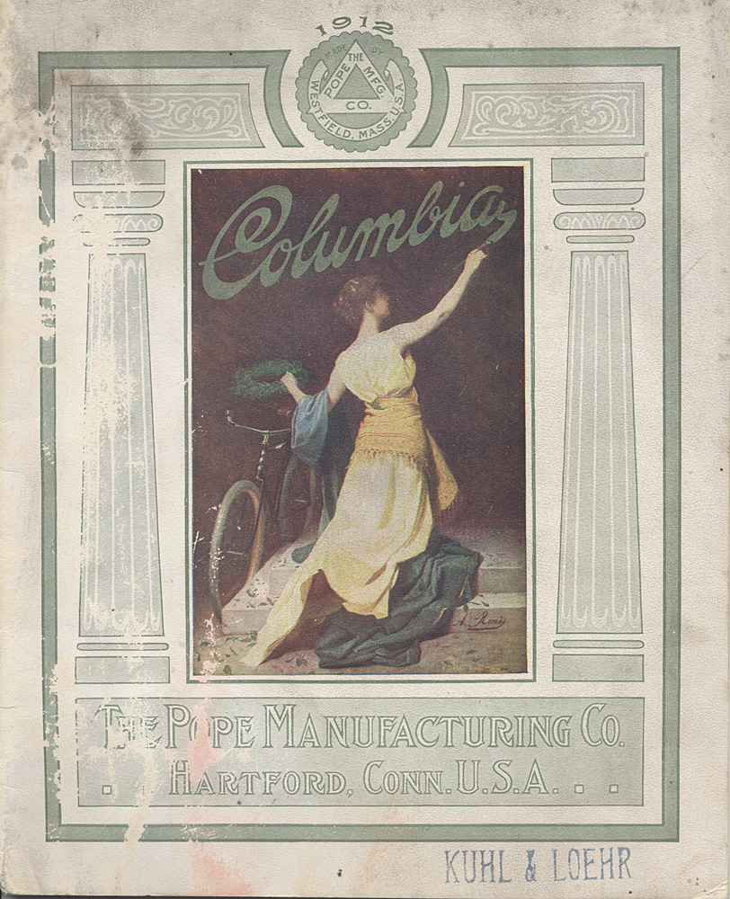Pope Manufacturing Company, Columbia Bicycles, 1912
