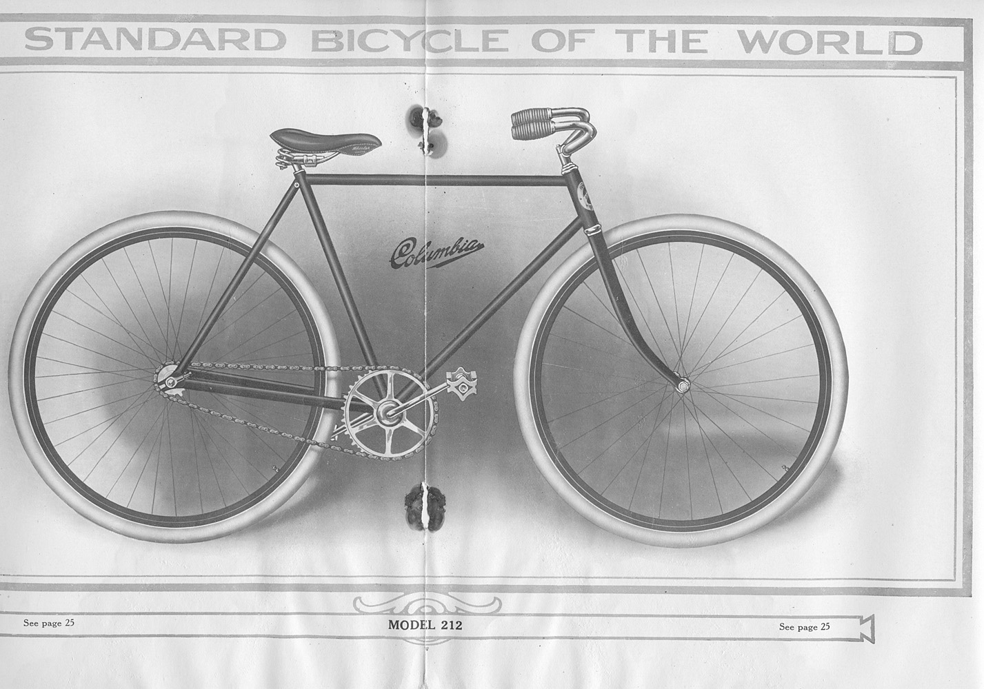 Bicycle Model 212,  Image number:SIL-038-10-17