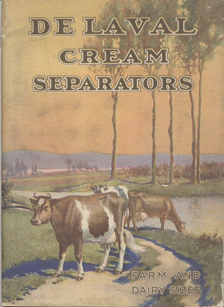 De Laval Cream Separators, Farm and Dairy Sizes (cover),  Image number:SIL-038-20-01