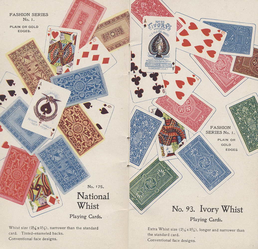National Whist Playing Cards ; Ivory Whist Playing Cards,  Image number:SIL-038-33-04