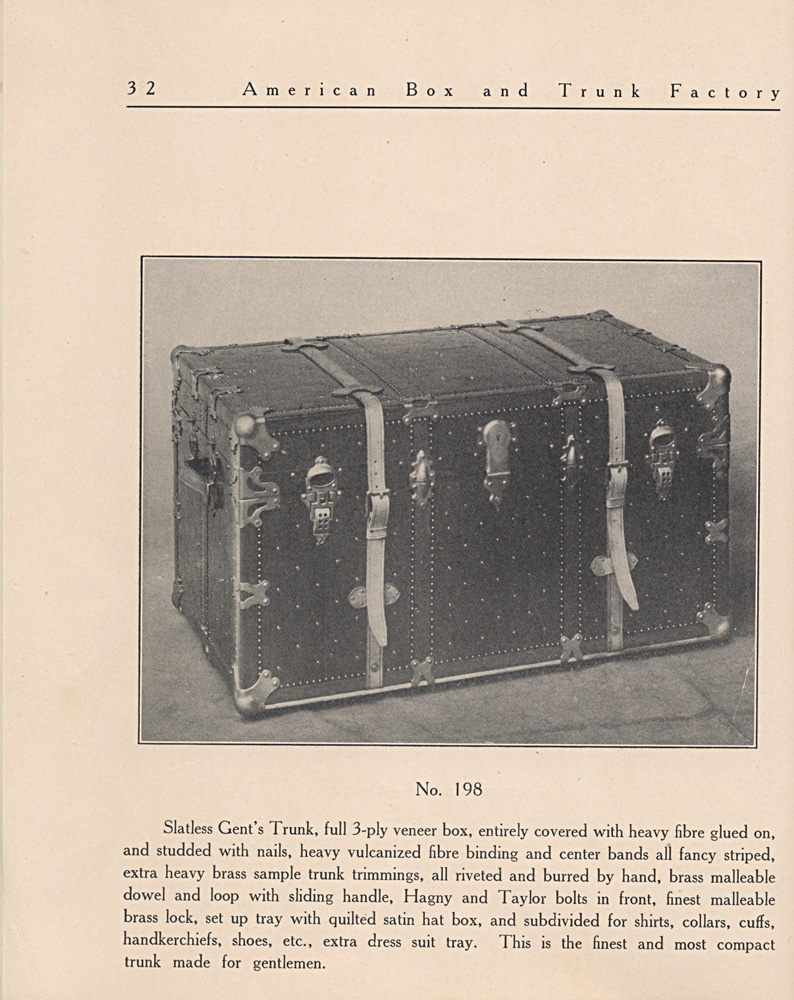 Image of Slatless Gentleman's trunk