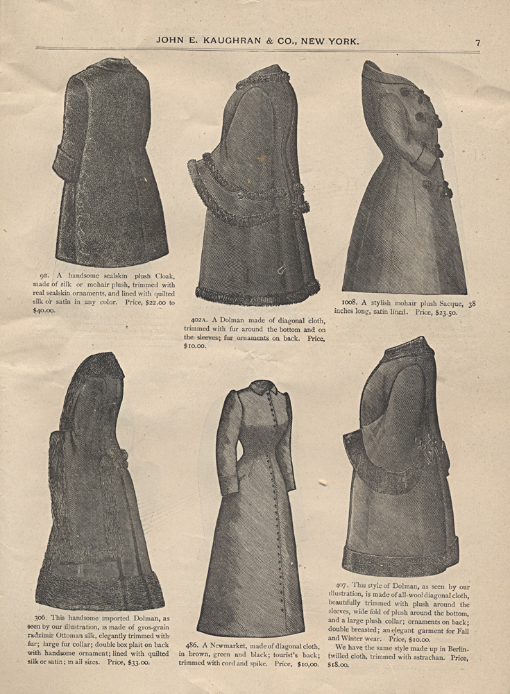 Women's cloaks and jackets,  Image number:SIL-038-53-05