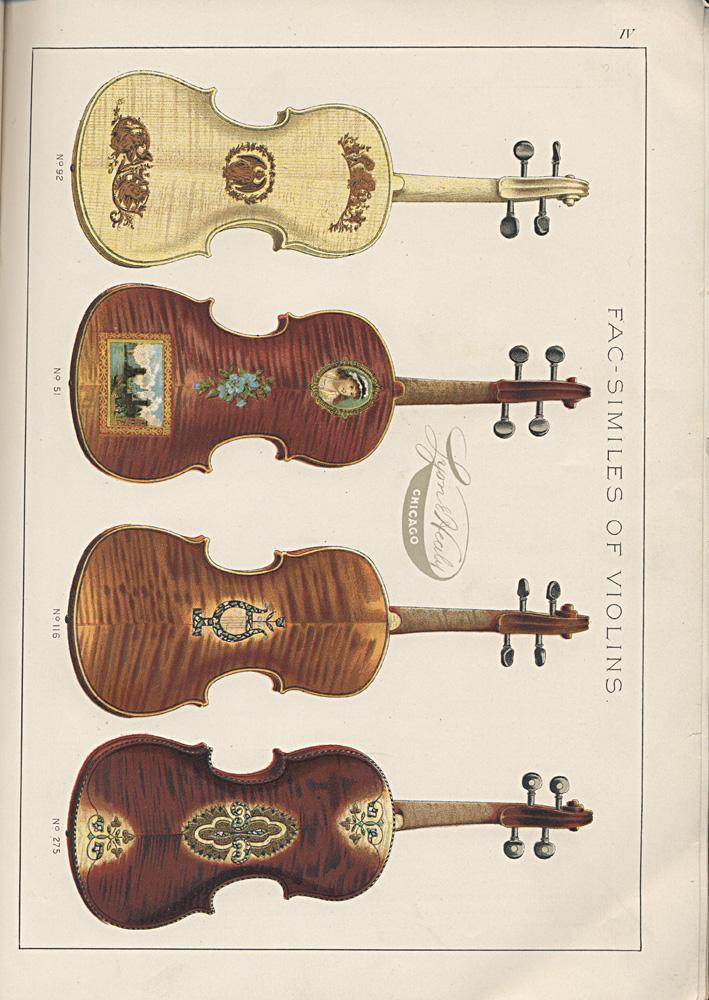Violins,  Image number:SIL-038-56-06