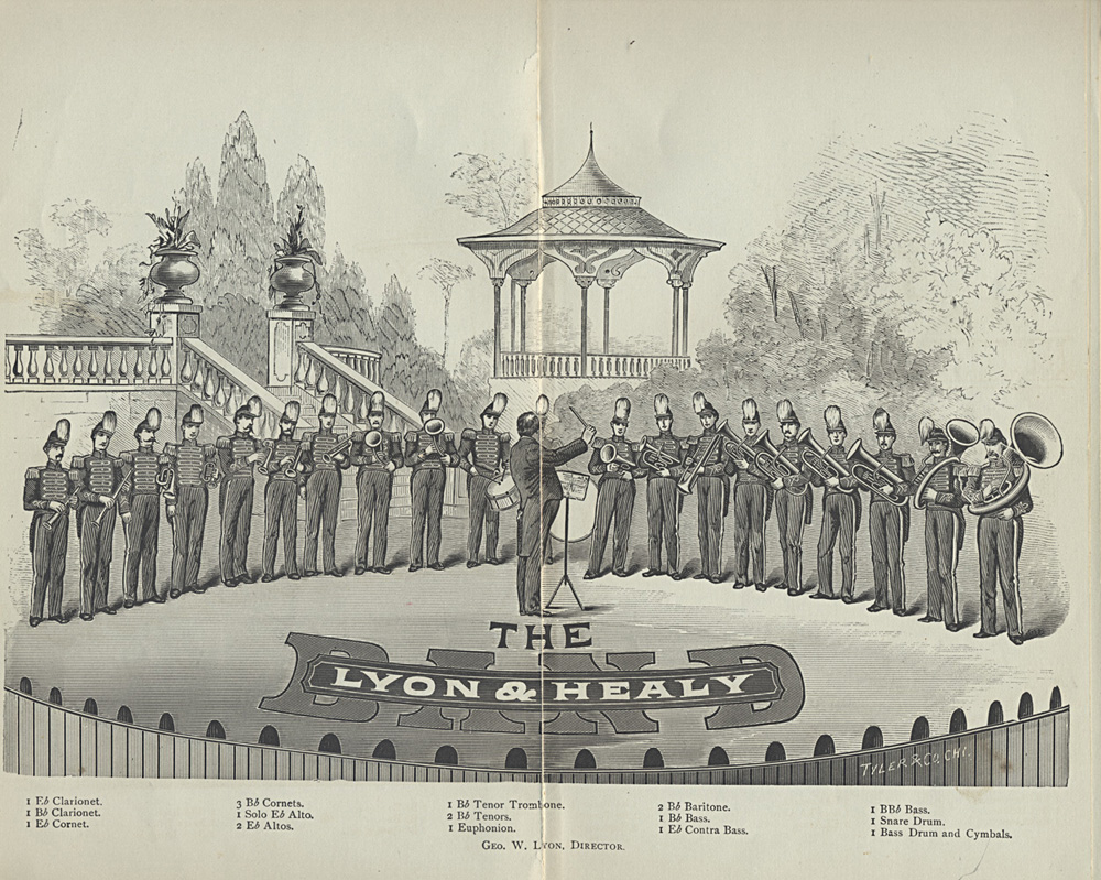 Lyon & Healy Band,  Image number:SIL-038-57-02