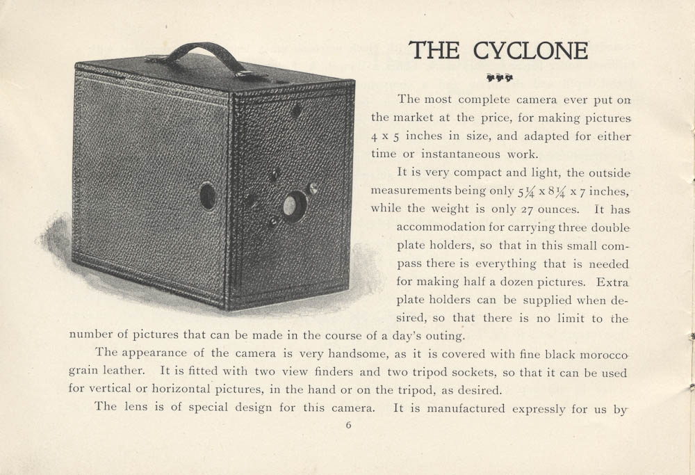 The Cyclone Camera,  Image number:SIL-038-71-007