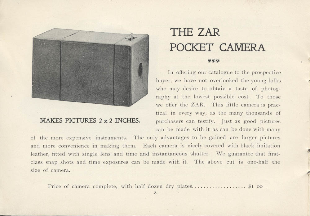 The Zar Pocket Camera,  Image number:SIL-038-71-009