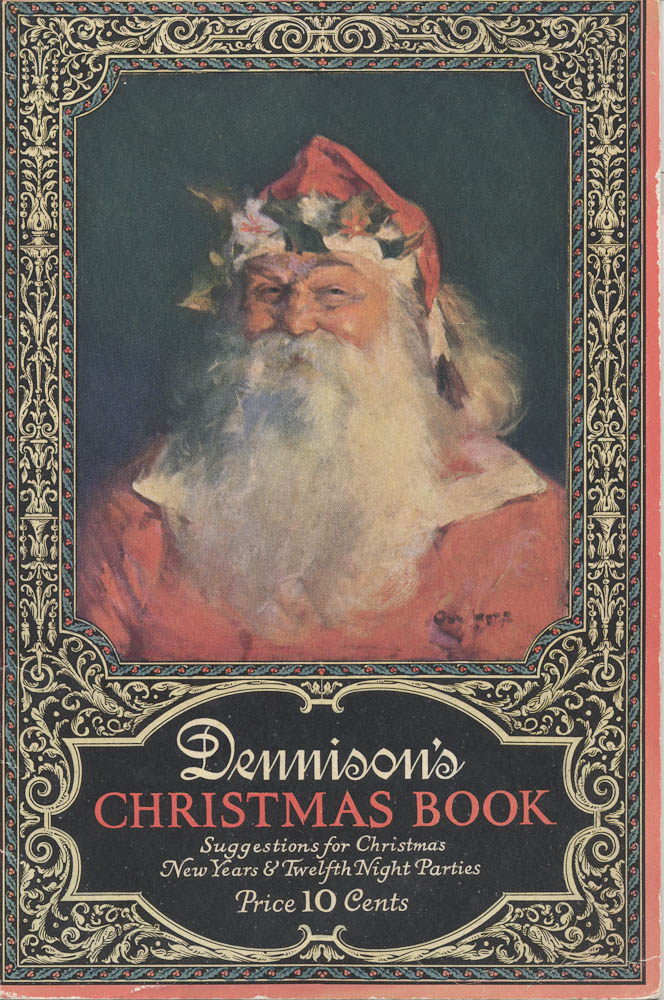 Santa (front cover),  Image number:SIL-038-74-01